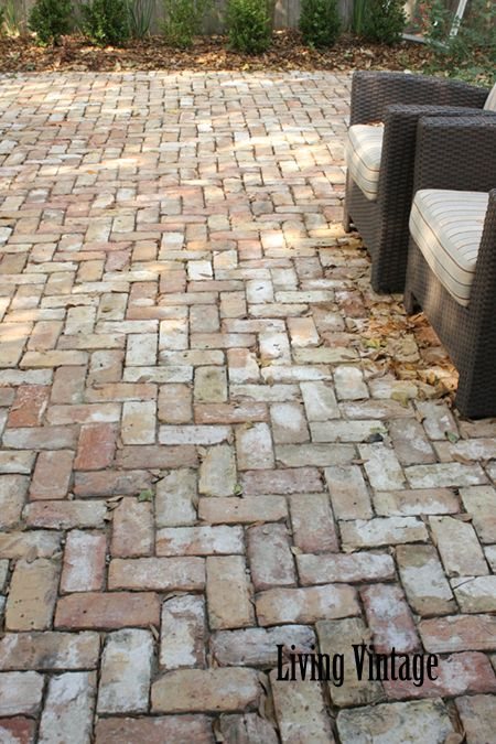 Patio Floor. Classic Look Brick Patio Floor N