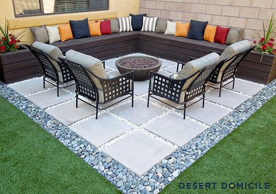 concrete slabs - Patio Flooring