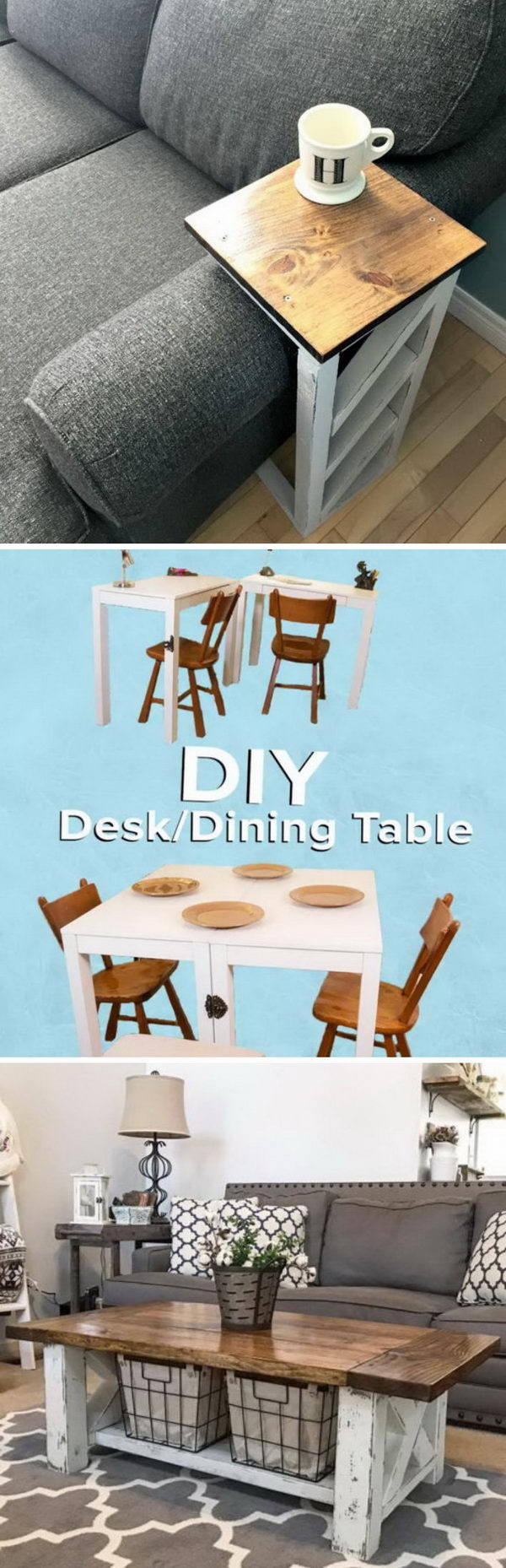 20 Easy DIY Tables.