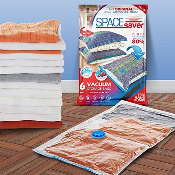 These Vacuum Storage Bags to Save You Tons Of Space.