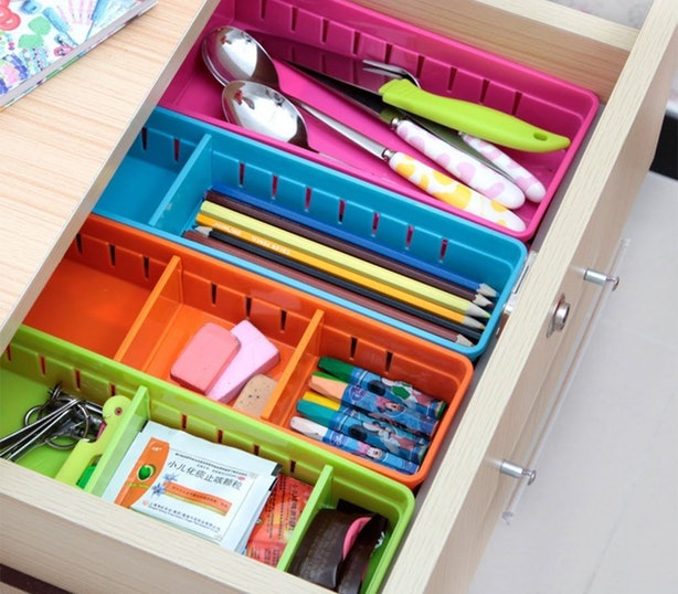 These Customizable Organizers For Cleaner Drawers.