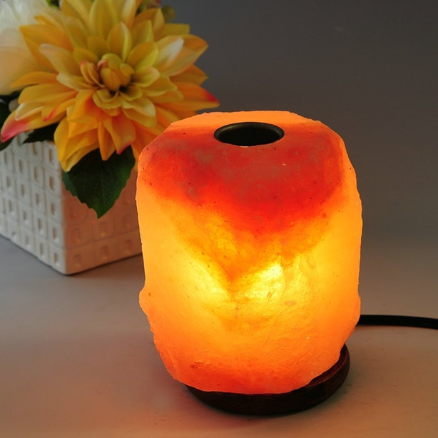This Salt Lamp That Doubles As An Essential Oil Diffuser.