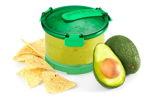 This Container Keeps Guacamole Green For Days.