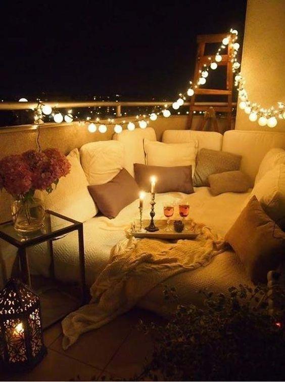 Romantic Balcony Design Ideas.