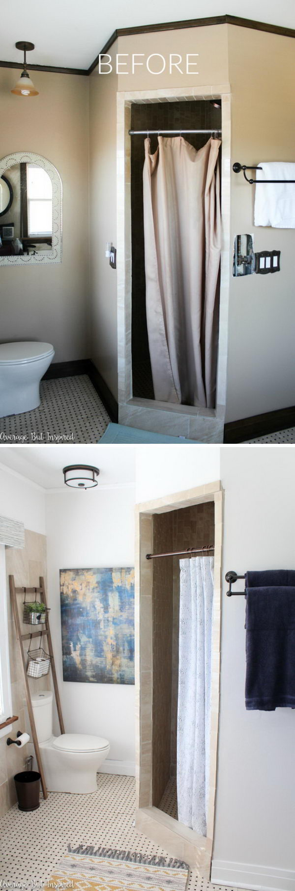 Light & Bright Master Bathroom Makeover Reveal.