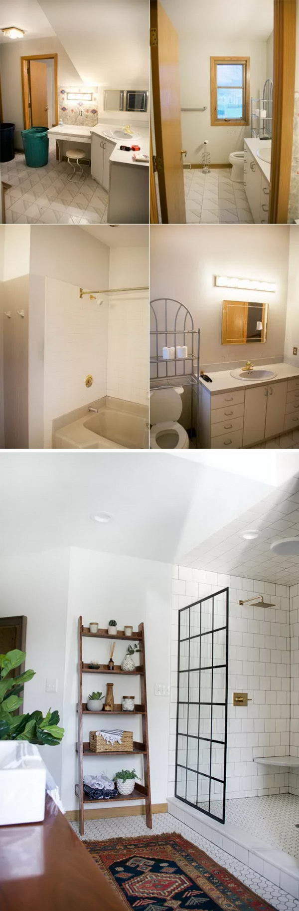 Modern Vintage Bathroom Reveal.