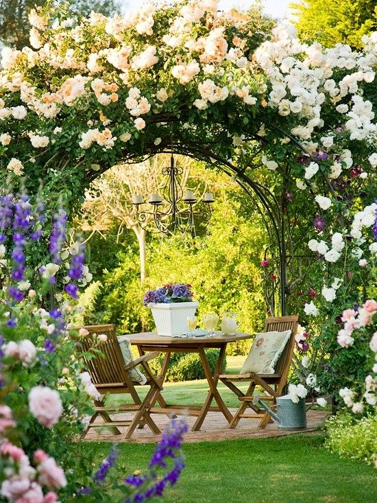 20 Lovable And Relaxing Garden Retreat Ideas 2017