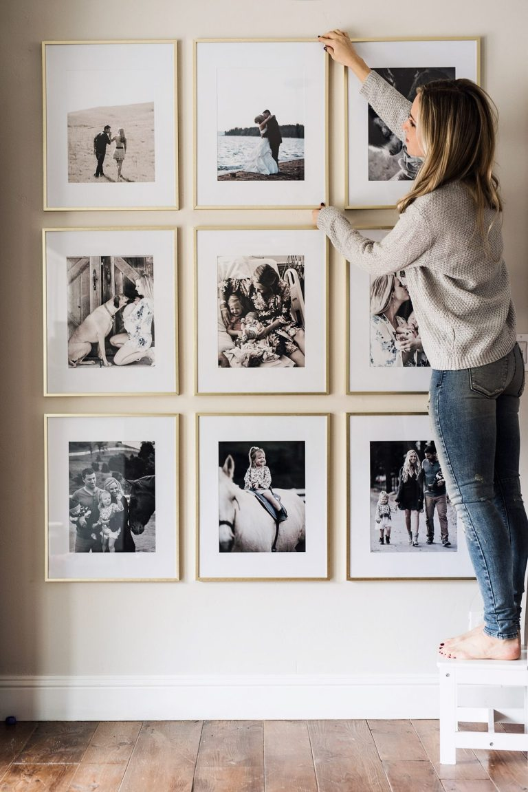 Picture Frame Wall.