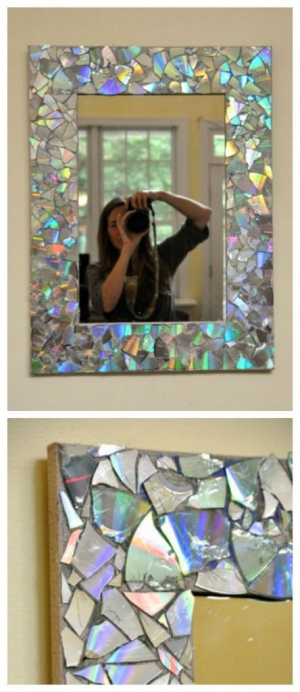 Mosaic Mirror Frame.