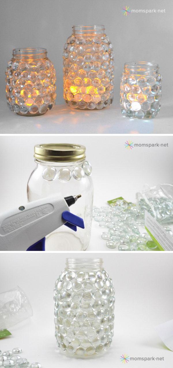 Mason Jar Luminaries.