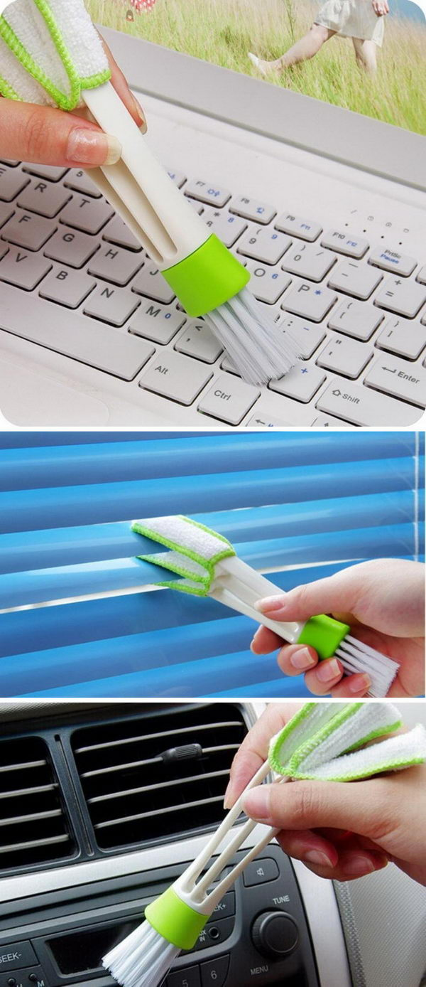 A Tiny Duster For All The Places You Forget To Dust.