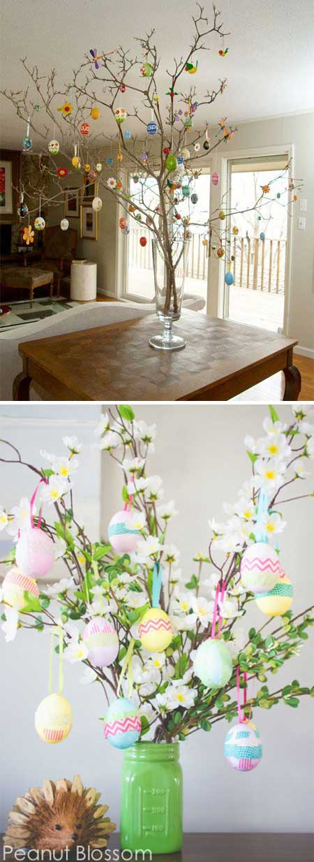 Table top Easter tree.