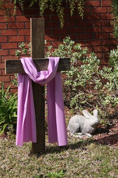 Easter Cross for the Yard.