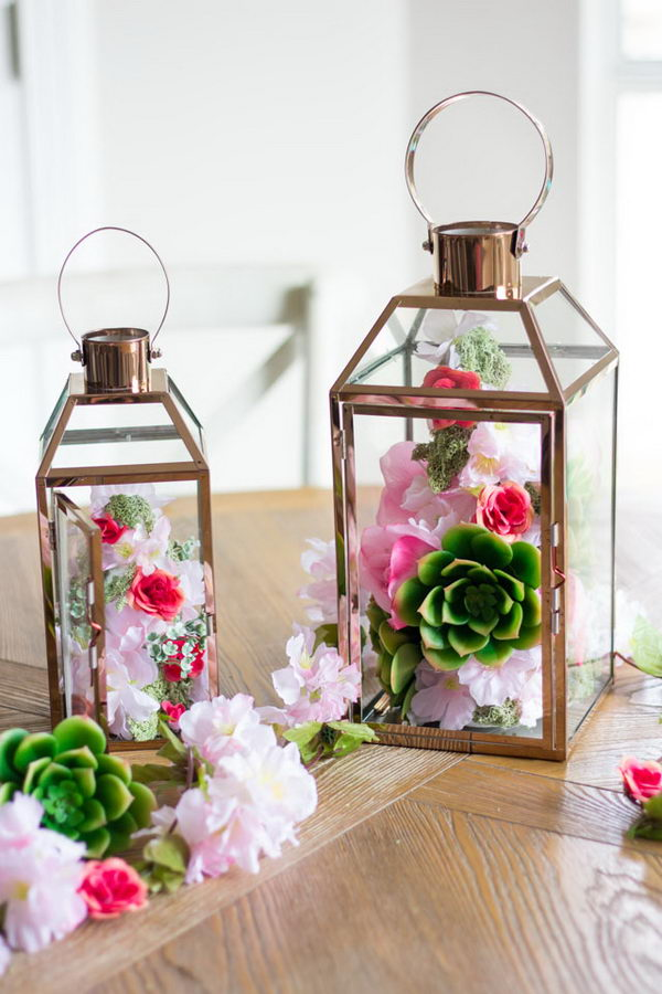 45 Cheerful Flower Arrangement Ideas For Spring And Easter