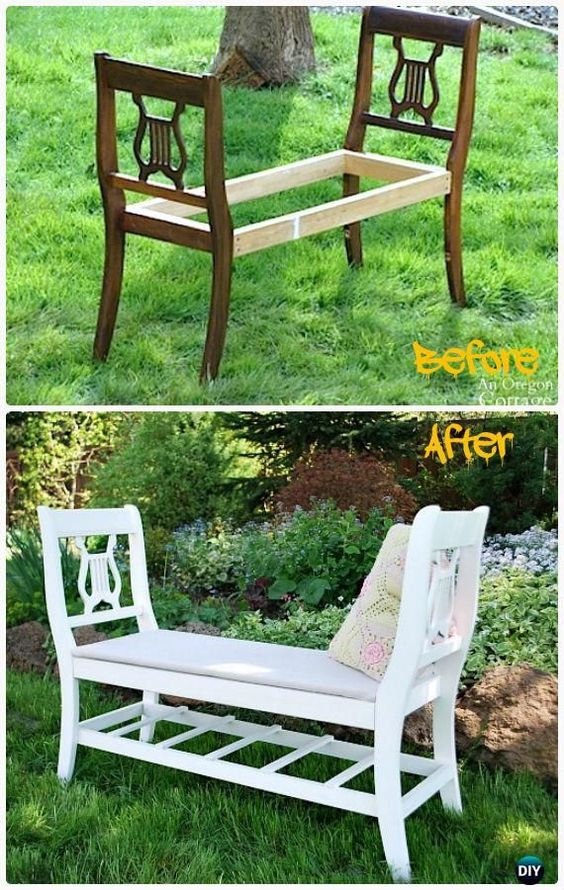 Outstanding 40 Creative Outdoor Bench Diy Ideas And Tutorials 2017 Andrewgaddart Wooden Chair Designs For Living Room Andrewgaddartcom