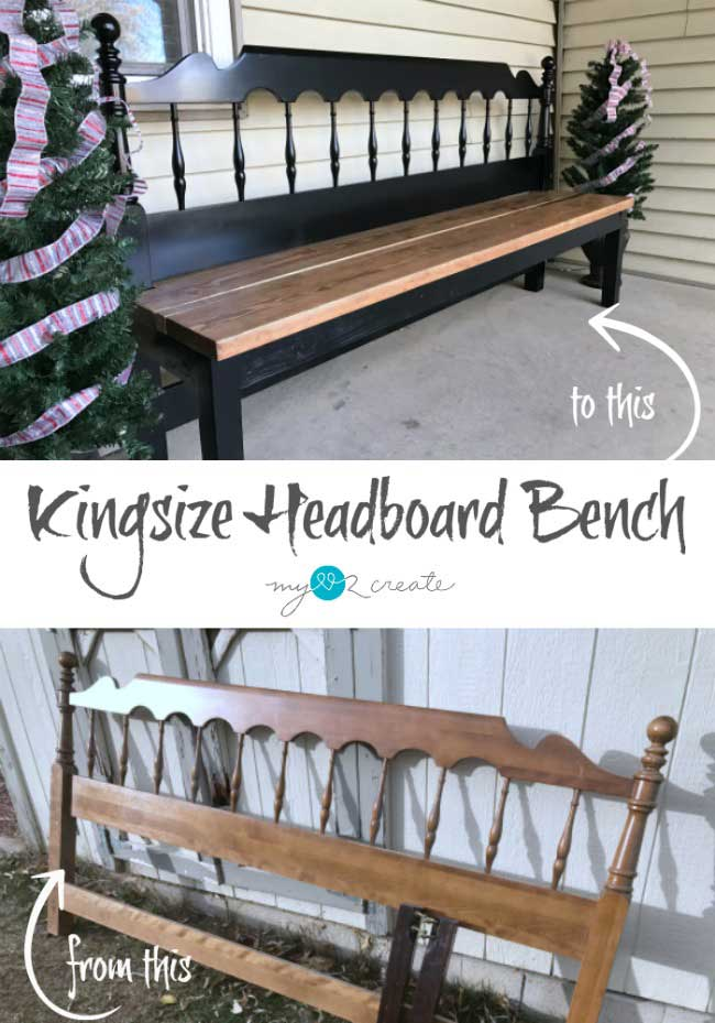Kingsize Headboard Bench.