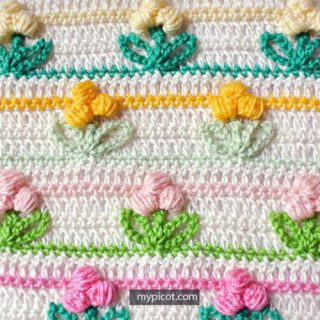15+ Crochet Flower Stitch Patterns and Tutorials