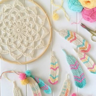15+ Crochet Dream Catcher Patterns and Tutorials