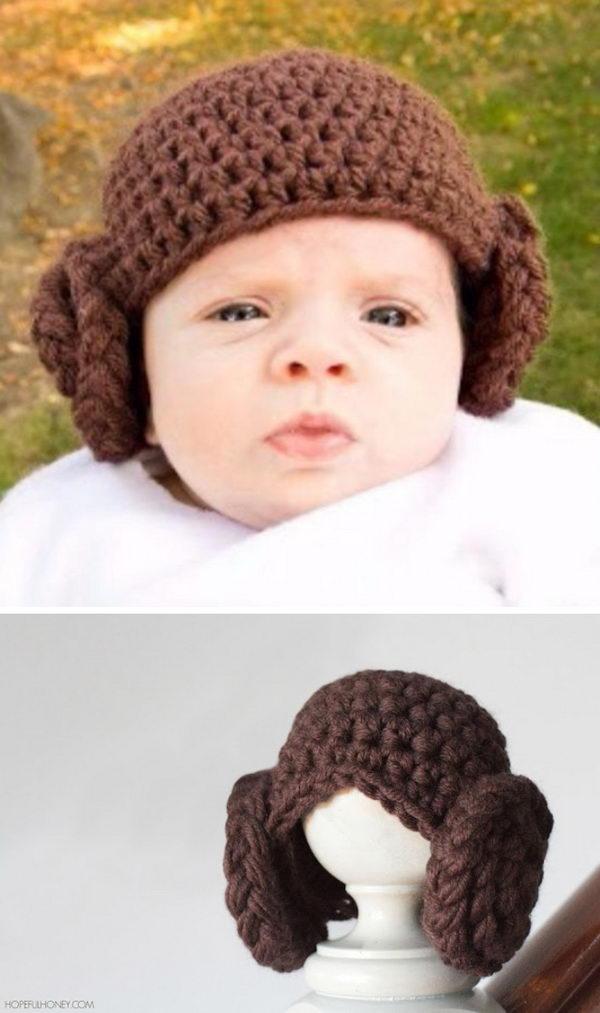 Princess Leia Beanie.