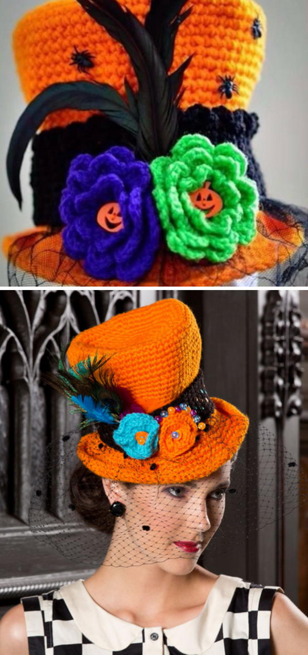 15 Crochet Halloween Hat Patterns And Tutorials 2017