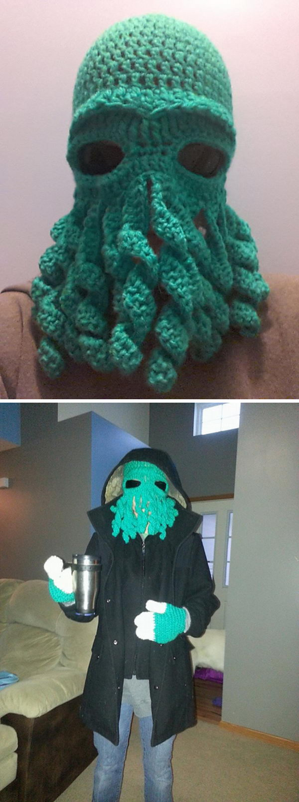 Cthulhu Octopus Hat.