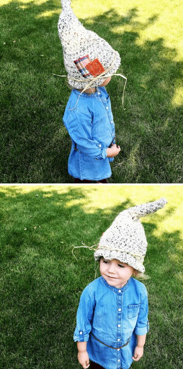 Crochet Scarecrow Hat.